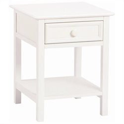 Bolton Furniture Wakefield Kids Nightstand in White