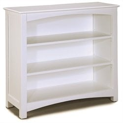 Bolton Furniture Wakefield Kids Low Bookcase in White