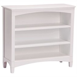 Bolton Furniture Essex Low Kids Bookcase in White