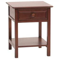 Bolton Furniture Wakefield Kids Nightstand in Cherry