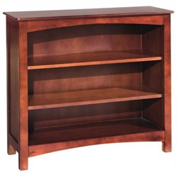 Bolton Furniture Wakefield Kids Low Bookcase in Cherry