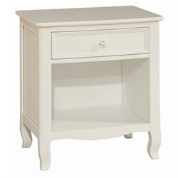 Bolton Furniture Emma Nightstand in White