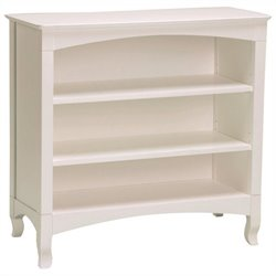 Bolton Furniture Emma Low Bookcase in White