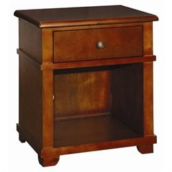 Bolton Furniture Woodridge Nightstand in Chestnut