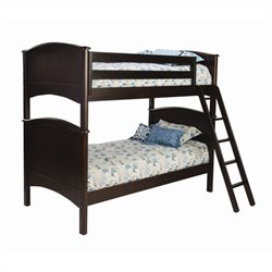 Bolton Furniture Essex Cooley Bunk Bed in Espresso