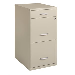 Hirsh Industries Office Designs Office Storage Solutions 3 Drawer File Cabinet