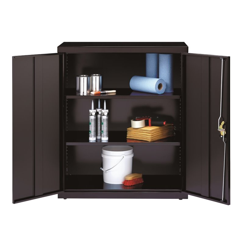 Merveilleux Hirsh Industries Iron Horse Storage Cabinet In Black