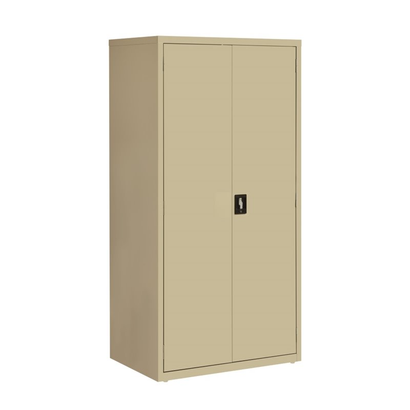 Beau Hirsh Industries Iron Horse Storage Cabinet In Putty