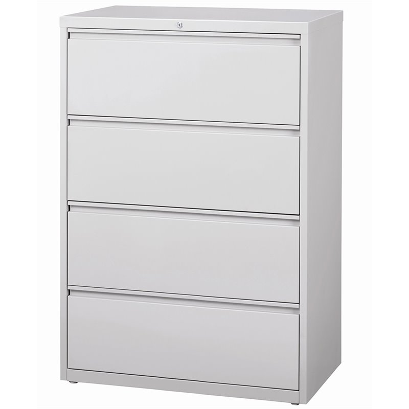 hutch kitchen cabinets hirsh hl8000 series 36 quot 4 drawer lateral file cabinet in 17455
