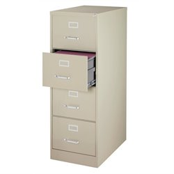 4 Drawer Legal File Cabinet in Putty