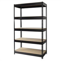 Hirsh Industries LLC Rivet 36x60 Heavy Duty 5 Shelf Storage Unit