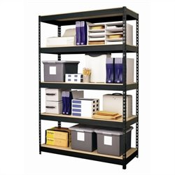 Hirsh Industries LLC Rivet 48x72 Heavy Duty 5 Shelf Storage Unit