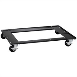 Hirsh Industries Commercial Cabinet Dolly in Black