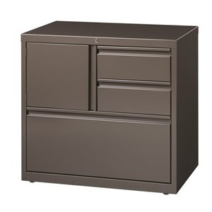File Cabinet with Door in Medium Tone