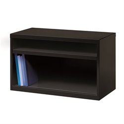 Hirsh Low Credenza File Cabinet in Black