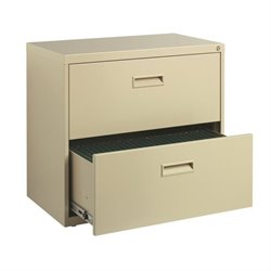 Hirsh SOHO 2 Drawer Lateral File Cabinet in Putty