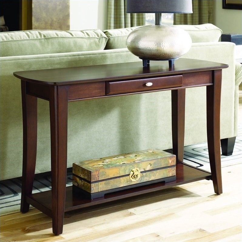 Hammary Enclave Sofa Table in Sable