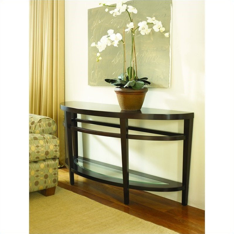 Hammary urbana sofa table in merlot t2081289 00 for Table urbana but