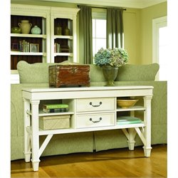 Hammary Promenade Sofa Table in Antique Linen