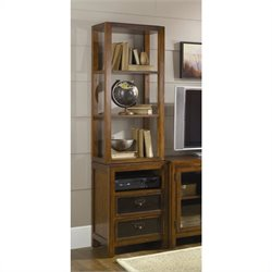Hammary Mercantile Audio Pier in Whiskey Finish