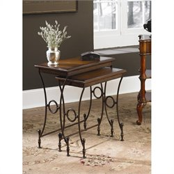 Hammary Hidden Treasures Rectangular Nesting Table