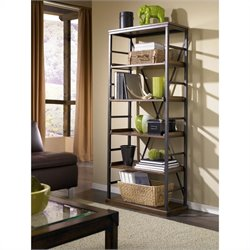 Hammary Studio Home Bookcase in Oak