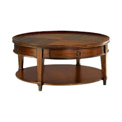 Hammary Sunset Valley Cocktail Table in Rich Mahogany