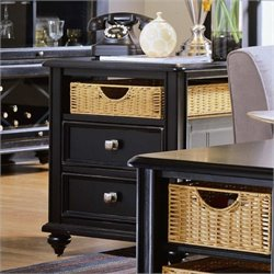 Hammary Camden Side Table in Black