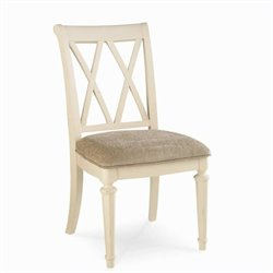 Hammary Camden Desk Chair in Painted White