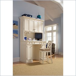 Hammary Camden Home Work Station in Painted White