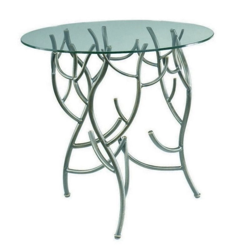 Hammary Hidden Treasures Twig Table in Metallic