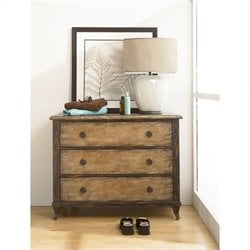 Hammary Hidden Treasures Rustic Drawer Accent Chest in Cherry