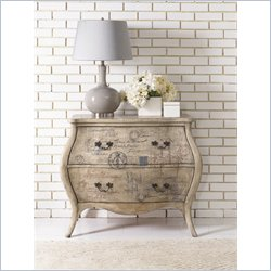 Hammary Hidden Treasures Script Bombe Chest in White