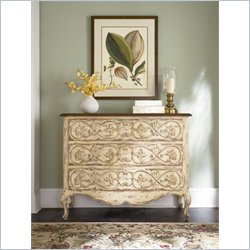 Hammary Hidden Treasures Drawer Chest in Distressed Antique White