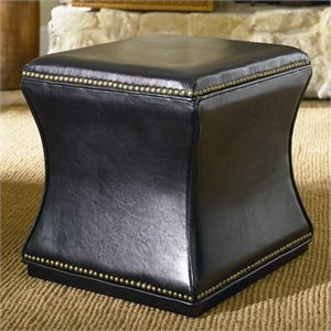 Hammary Hidden Treasures Storage Cube in Black