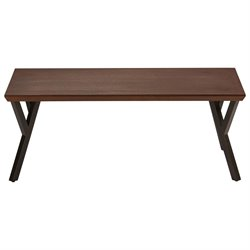 International Caravan Hamburg Wood Coffee Table in Sonoma Oak