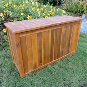 International Caravan Royal Fiji Patio Deck Box Stain