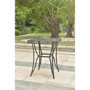 Segovia 32-inch Iron Bar-Height Pub Table