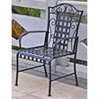 Mandalay Iron Chairs in Antique Black (Set of 2)