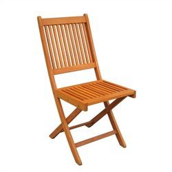 International Caravan Royal Tahiti Folding Garden Chair (Set of 2)