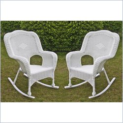 International Caravan Monaco Outdoor Rocker (Set of 2)