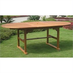 International Caravan Royal Tahiti Outdoor Patio Dining Table