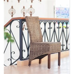 International Caravan Bali Bayu Woven Abaca Dining Chair