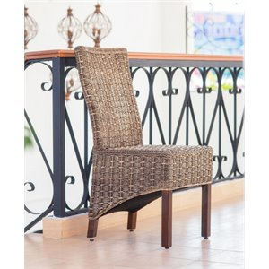 Bayu Woven Abaca Dining Chair (Set of 2)