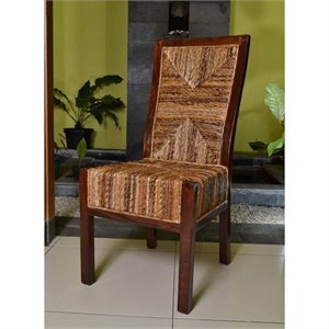 Dallas Woven Abaca Dining Chair (Set of 2)