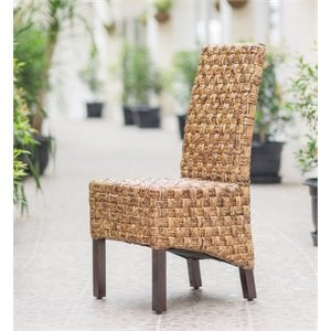 Woven Abaca Dining Chair