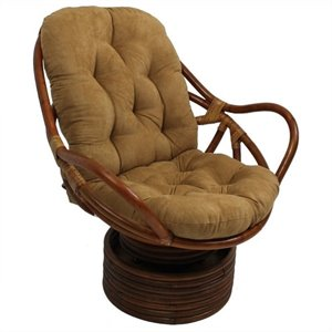 International Caravan Swivel Rocker Chair