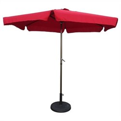 Patio Umbrella in Ruby Red