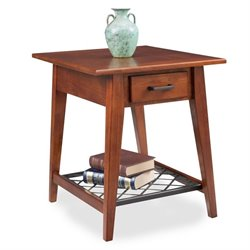 Leick Latisse End Table in Westwood Oak