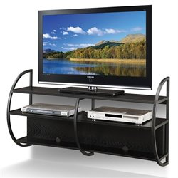Leick Floating TV Stand in Slate